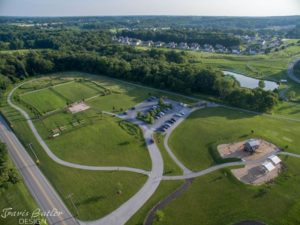 Goddard Park Aerial View